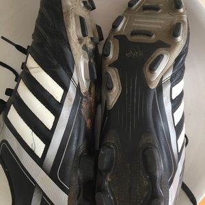 adidas Shoes - Adidas soccer cleats leather men's 8 1/2